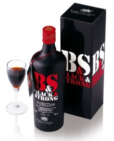 ANDREA DA PONTE, BLACK & STRONG, Coffee liqueur made with grappa
